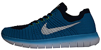 "Мужские кроссовки Nike Free Run Flyknit ""Blue"""