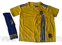 Футбольная форма Украины (основная) Ярмоленко детская + Гетры Украина детские