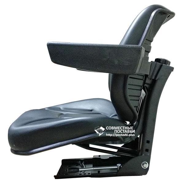 Сиденье универсальное с подлокотниками МТЗ, ЮМЗ, Т-16, Т-25, Т-40, Т-150 кресло с регулировкой веса водителя Star (Турция)