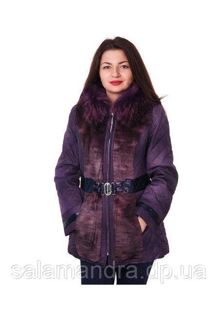 Зимняя, Стеганная Куртка с Натуральным Мехом 50 Р. — в Категории ... afde249284b