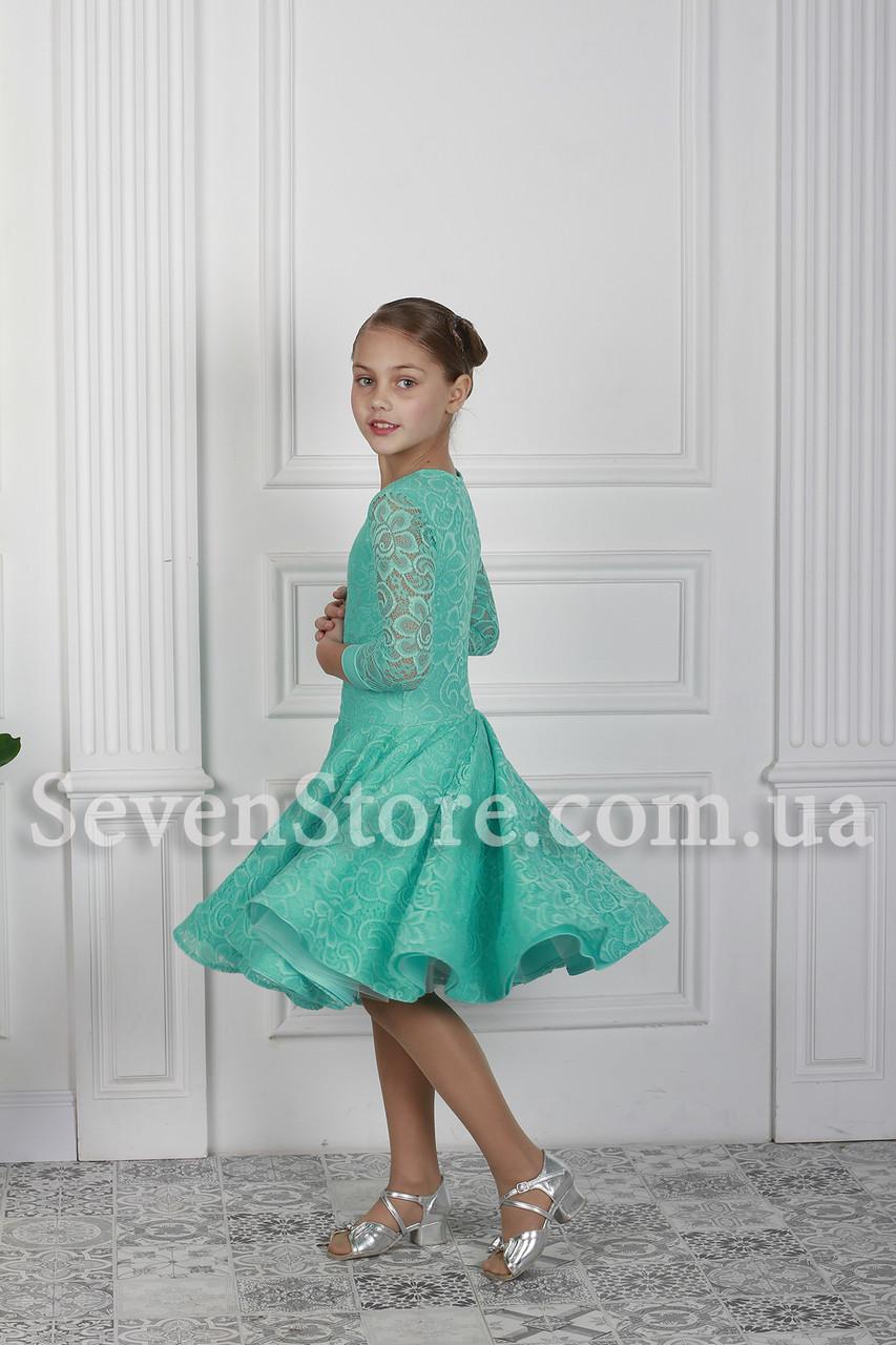 Рейтингове плаття Бейсік для бальних танців Sevenstore 9101 М'ята