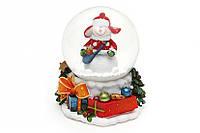 Водяна куля Сніговик з подарунками