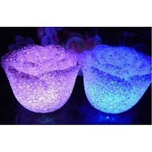 Светильник хамелеон/ ночник с цветной подсветкой Роза CRYSTAL