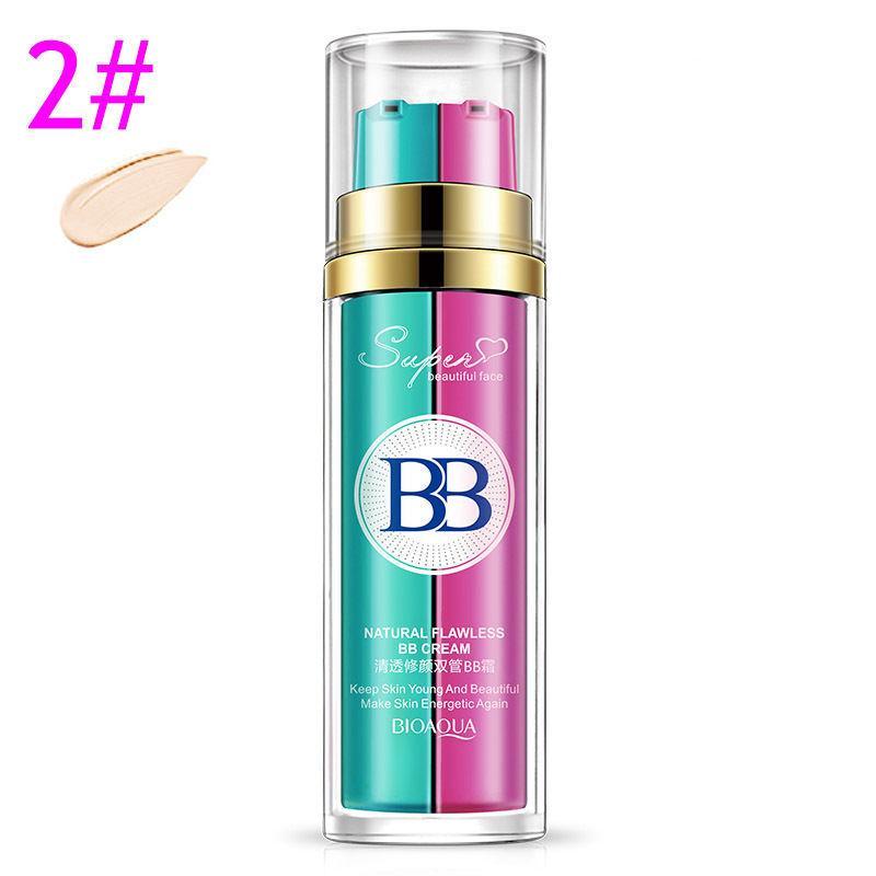 BB крем+база под макияж BIOAQUA Natural Flawless BB cream №2