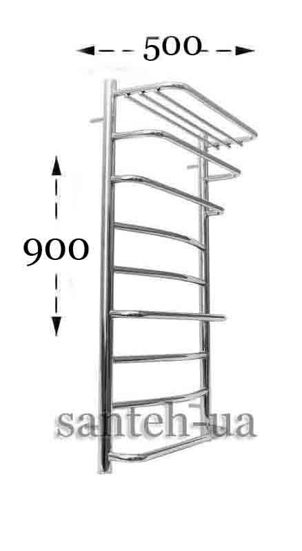 Полотенцесушитель Ravans Стандарт 500х900