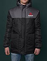 Парка зимняя,мужская куртка рибок,Reebok Crossfit Winter Parka Jacket