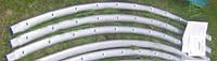 Каркасная труба для батута KIDIGO 426 см