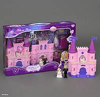 Замок SG-2979 с мебелью,куклами,каретой батар.муз.свет