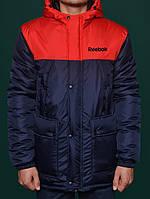 Молодежная парка зимняя,мужская куртка рибок,Reebok Crossfit Winter Parka Jacket