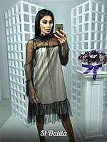 Потрясающее платье оригинального фасона