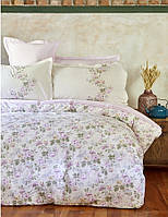 Постельное белье евро Karaca Home Shale lila