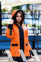 Зимняя женская куртка  стёганная.