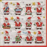Салфетки Дедушки Морозы 10шт