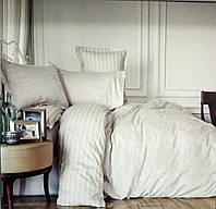 Комплект постельного белья евро Karaca Home сатин  Passero синие цветы