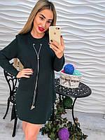 Стильное, модное и теплое платье
