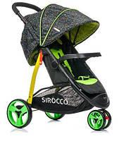 Детская прогулочная коляска SIROCCO, большие колеса 24см (Польша)