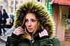 Зимняя куртка парка хаки на меху, фото 10