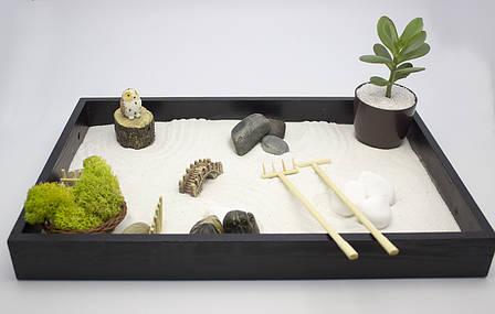 Японский сад камней Сад Дзен настольный для релаксации