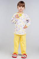 Пижама для девочки (футер)разные расцветки