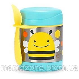 Термос для еды с ложечкой Пчела Skip Hop 252379