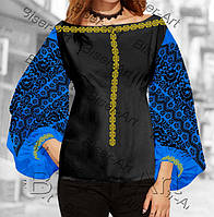 Копия Копия Копия Заготовка для вишивки жіночої сорочки бохо В-111 на  габардині 3c86c6f5e90bc