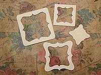 Чипборд 109 Рамки 7*7см Albinos-cards
