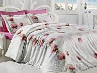 Комплект бамбуковой постели Orkide Pembe