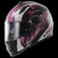 Шлем LS2 FF322 CHIC BLACK PINK размер  S