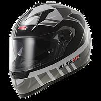 Шлем LS2 FF322 VOLTAGE WHITE SILVER размер М