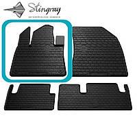 Citroen C4 Picasso 2013- Водительский коврик Черный в салон