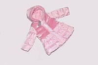 Детская Куртка зима с мехом на девочку 72 см Toddler