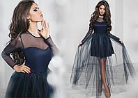 Вечернее молодежное платье № 1136 kux
