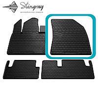 Citroen C4 Picasso 2013- Передний правый коврик Черный в салон