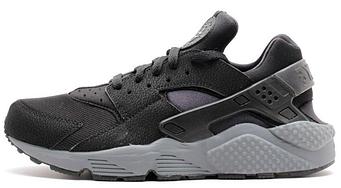 "Мужские кроссовки Nike Air Huarache ""Black/Gray"""