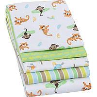 Комплект пеленок для новорожденных  (набор 4 шт)