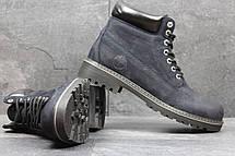 Мужские зимние кроссовки Timberland,Тимберленд,на меху,синие, фото 2