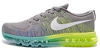 "Мужские кроссовки Nike Air Flyknit Max 2014 ""Gray/Green"""