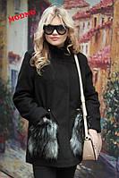 Стильное женское пальто-парка (мягкий кашемир, утеплитель, карманы мех, пояс на кулиске) РАЗНЫЕ ЦВЕТА!