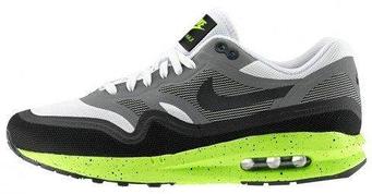 "Мужские кроссовки Nike Air Max Lunarlon 1 ""Black/Gray/White"""