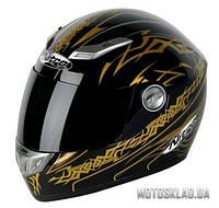 Шлем интеграл  Nitro AIKIDO BLACK/GOLD