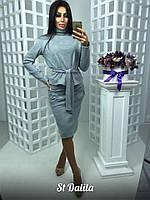 Женский ангоровый костюм юбка-кофта