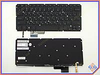 Клавиатура DELL XPS15 (RU Black с подсветкой ). Оригинальная. Русская.