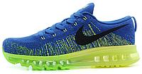 "Мужские кроссовки Nike Air Flyknit Max 2014 ""Blue/Green"""