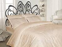Комплект бамбуковой постели Anna Ekru, фото 1