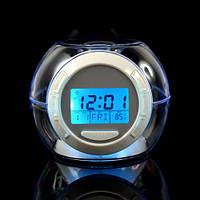 Часы-будильник 7 color light 502 с RGB подсветкой (AMC)