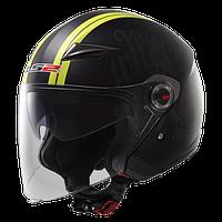 Шлем открытый  с очками LS2 OF569 PARTY размер XL