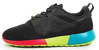 """Мужские кроссовки Nike Roshe Run QS """"Black"""""""