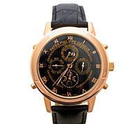 Мужские механические наручные часы Patek Philippe Sky Moon Tourbillon gold black
