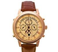 Мужские механические наручные часы Patek Philippe Sky Moon Tourbillon gold