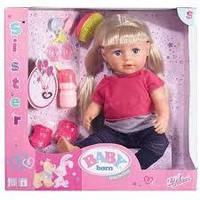 Кукла baby born старшая сестренка оригинал zaof creation лялька